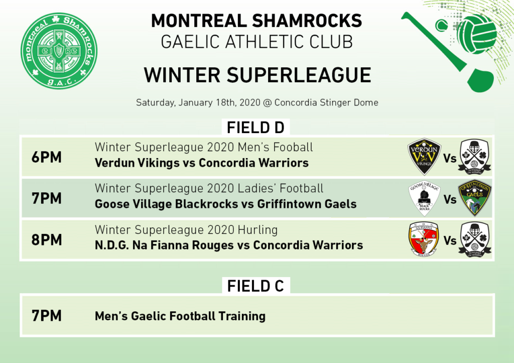 Winter superleague week 2